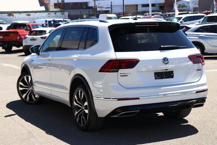 2018 Volkswagen Tiguan 162TSI Highline Allspace 5N MY19 Four Wheel Drive Pure White