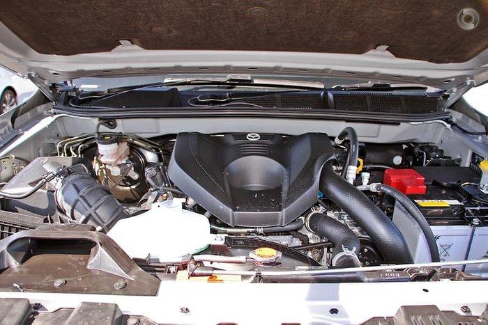 2020 Mazda BT-50 XTR TF 4X4 Dual Range Ingot Silver