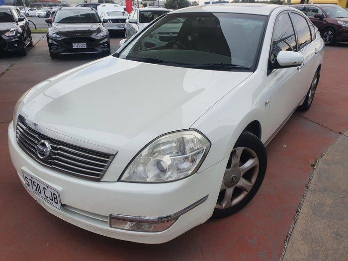 2008 Nissan Maxima Ti J31 MY06 White Diamond