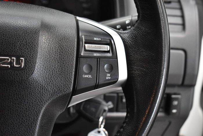 2018 Isuzu D-MAX SX MY17 4X4 Dual Range Splash White