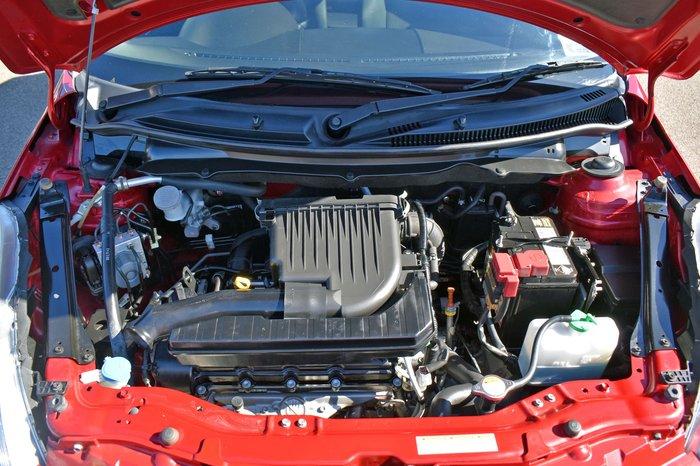 2013 Suzuki Swift GL FZ Ablaze Red Pearl