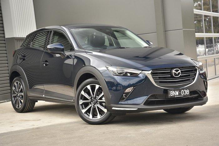 2021 Mazda CX-3 sTouring DK Deep Crystal Blue