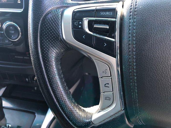 2017 Mitsubishi Triton GLS MQ MY18 4X4 Dual Range Silver