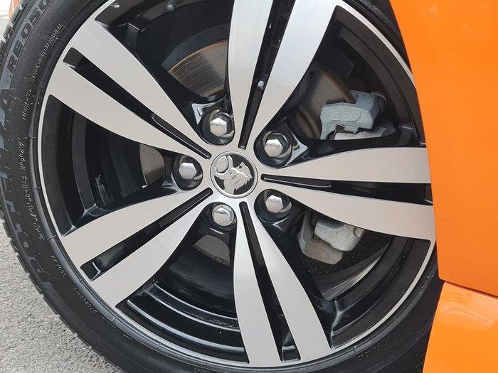 2014 Holden Commodore SV6 Storm VF MY14 Orange