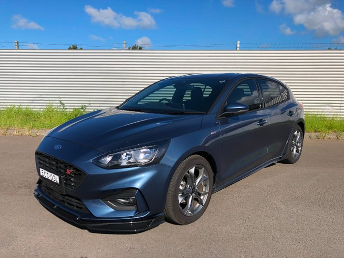 2019 Ford Focus ST-LINET3 SA MY19.75 Blue