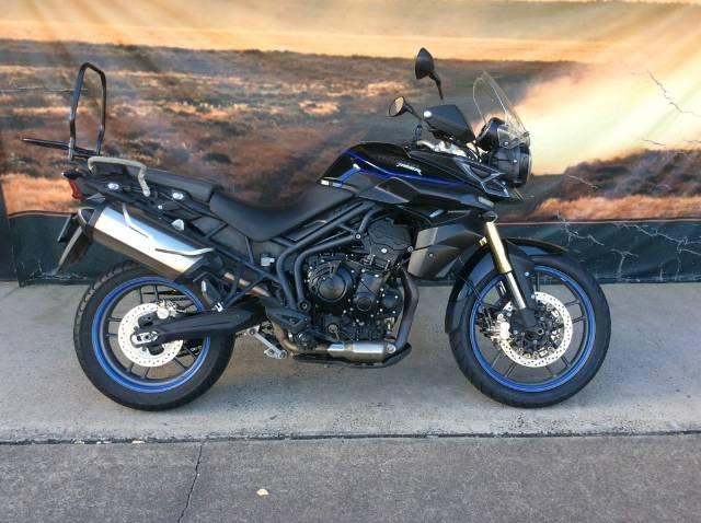 2012 TRIUMPH TIGER 800 DUAL PURPOSE BLACK