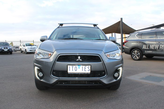2014 Mitsubishi ASX LS XB MY15 4X4 Constant Titanium