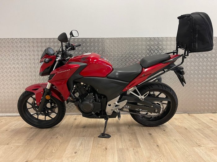 2014 Honda CB500F RED
