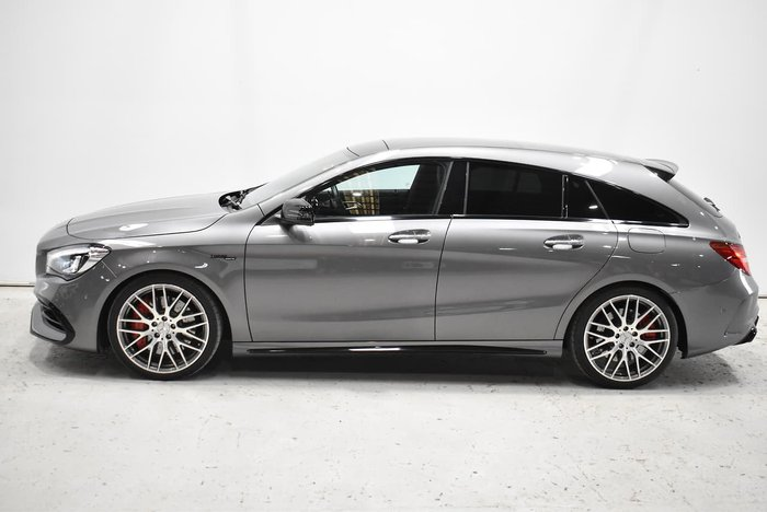 2016 Mercedes-Benz CLA-Class CLA45 AMG X117 Four Wheel Drive Mountain Grey