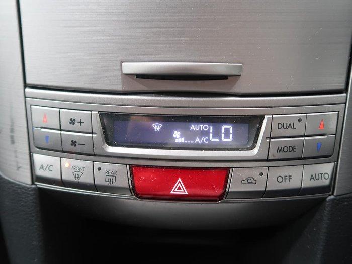 2009 Subaru Outback 2.5i 4GEN MY10 AWD White