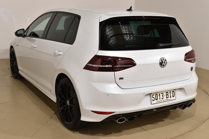 2015 Volkswagen Golf R Wolfsburg Edition 7 MY16 Four Wheel Drive Oryx White Pearl