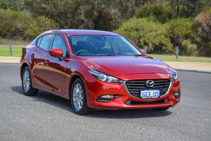 2016 Mazda 3 Neo BM Series Soul Red