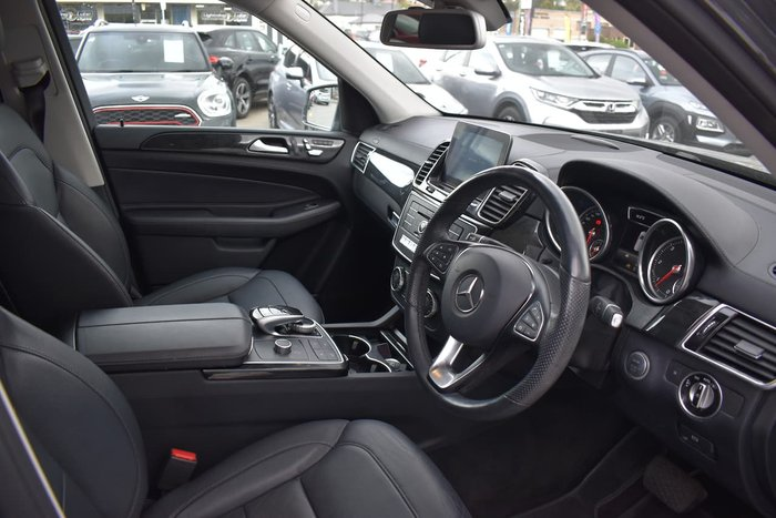 2017 Mercedes-Benz GLE-Class GLE350 d W166 Four Wheel Drive Grey