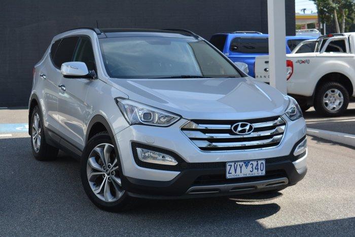 2013 Hyundai Santa Fe Highlander DM MY14 4X4 On Demand Sleek Silver
