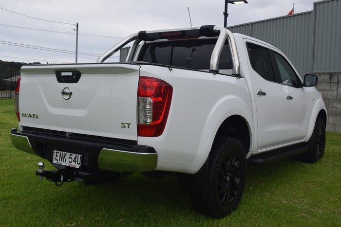 2019 Nissan Navara ST D23 Series 3 4X4 Dual Range Polar White