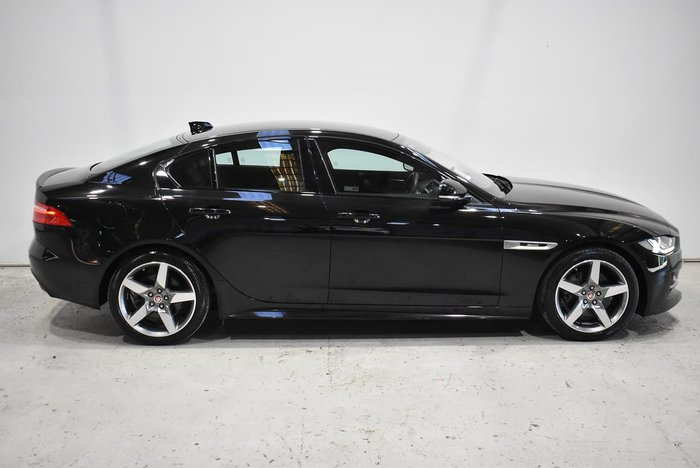 2018 Jaguar XE 20d R-Sport X760 MY19 Black