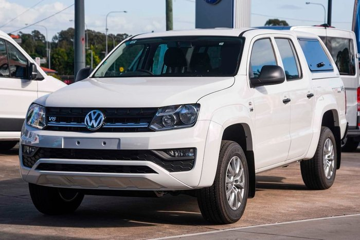 2021 Volkswagen Amarok TDI550 Core 2H MY21 4X4 Constant White