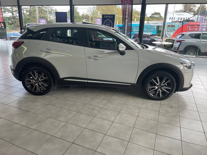 2018 Mazda CX-3 Akari DK AWD White