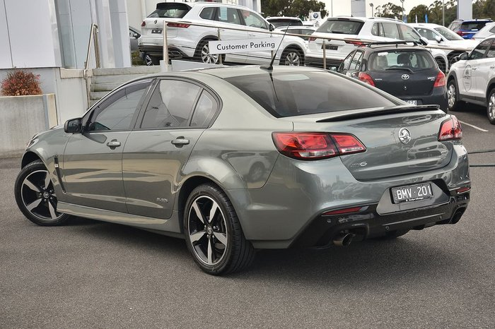 2016 Holden Commodore SV6 Black VF Series II MY16 Grey