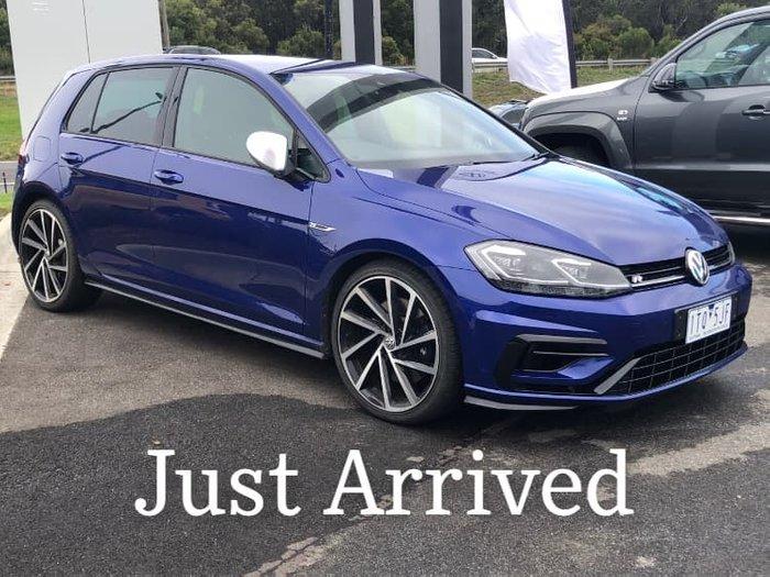 2017 Volkswagen Golf R 7 MY17 Four Wheel Drive Lapiz Blue