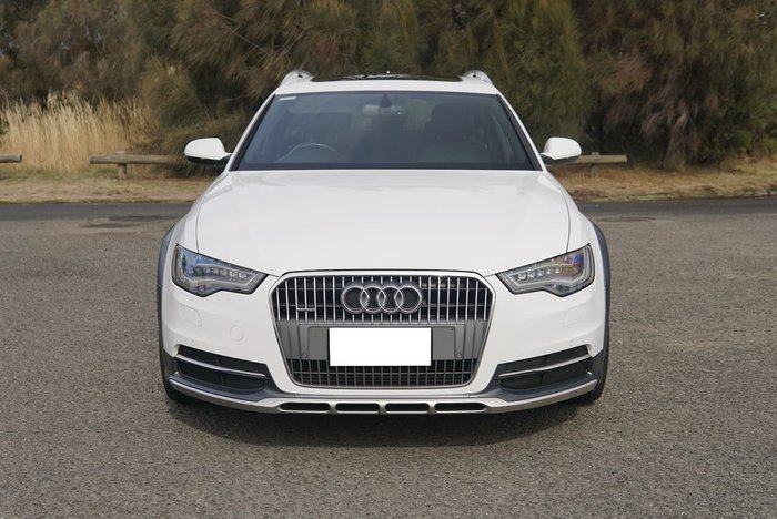 2013 Audi A6 allroad C7 MY13 Four Wheel Drive White