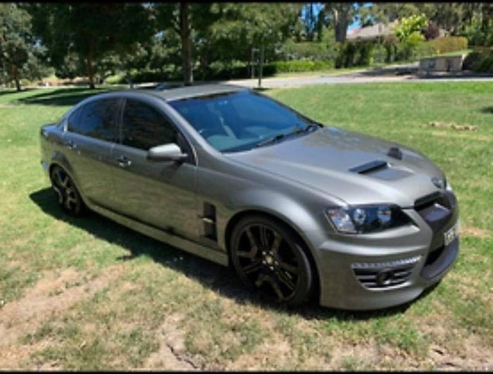 2011 Holden Special Vehicles GTS E Series 3 MY12 Alto Grey