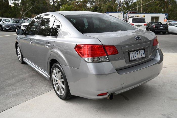 2011 Subaru Liberty 2.5i 5GEN MY12 AWD Ice Silver