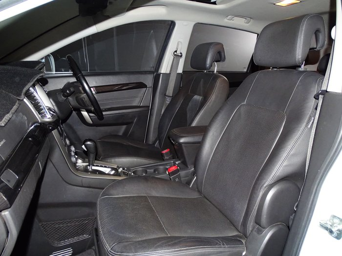 2013 Holden Captiva 7 LX CG MY13 AWD White