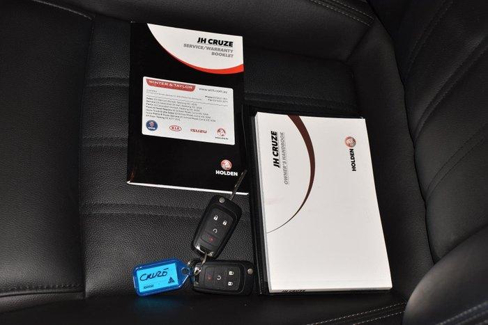 2016 Holden Cruze Z-Series JH Series II MY16 Slipstream Blue