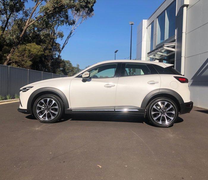 2021 Mazda CX-3 sTouring DK Snowflake White Pearl