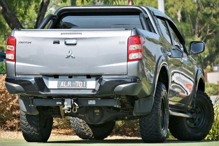 2017 Mitsubishi Triton GLS Sports Edition MQ MY17 4X4 Dual Range Titanium