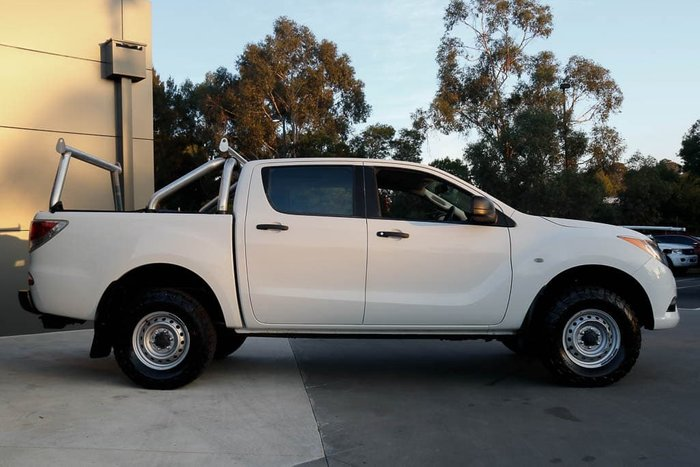 2014 Mazda BT-50 XT UP 4X4 Dual Range Cool White