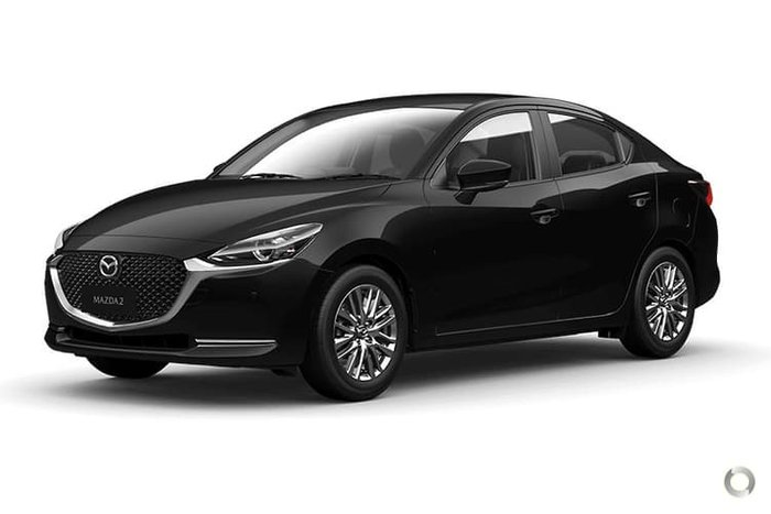 2021 Mazda 2 G15 GT DL Series Jet Black