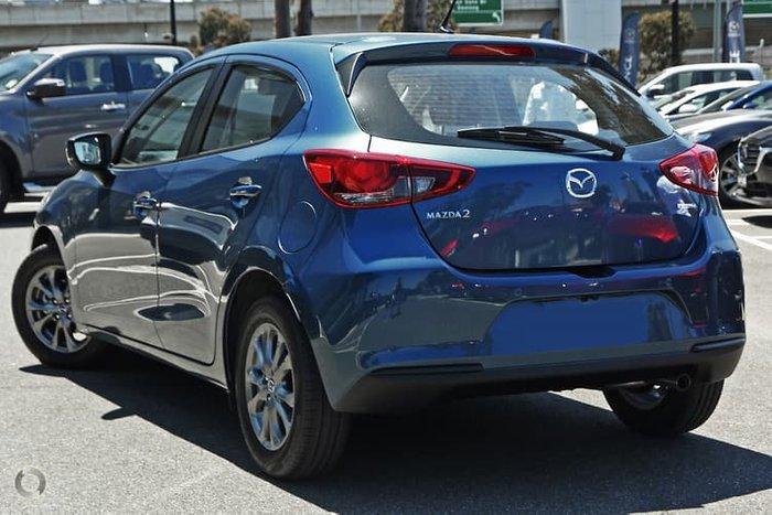 2021 Mazda 2 G15 Pure DJ Series Eternal Blue