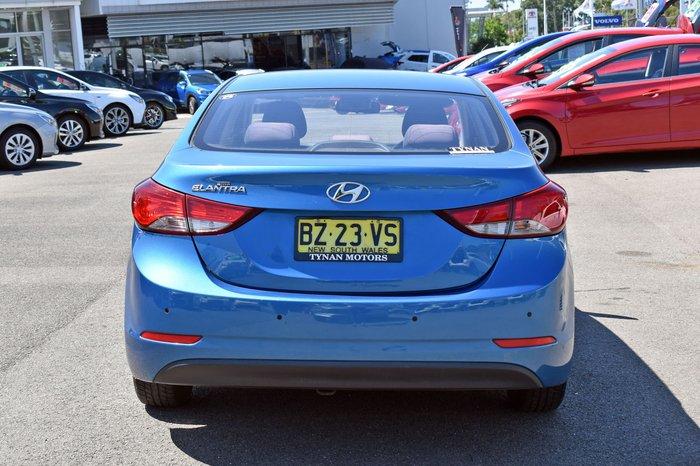 2014 Hyundai Elantra Active MD3 Tropical Sea Blue