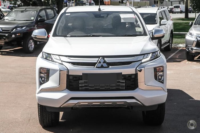 2021 Mitsubishi Triton GLS MR MY21 4X4 Dual Range White Diamond