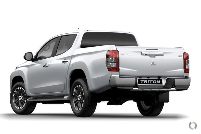 2021 Mitsubishi Triton GLX-R MR MY21 4X4 Dual Range White Diamond