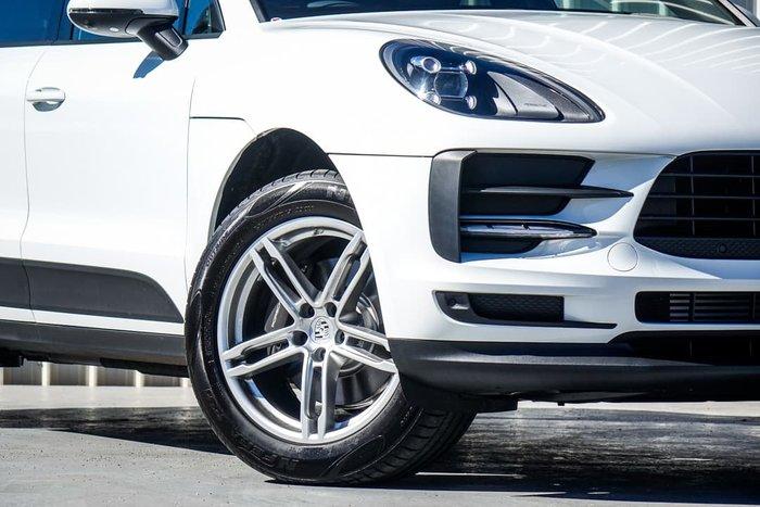 2021 Porsche Macan 95B MY21 AWD White