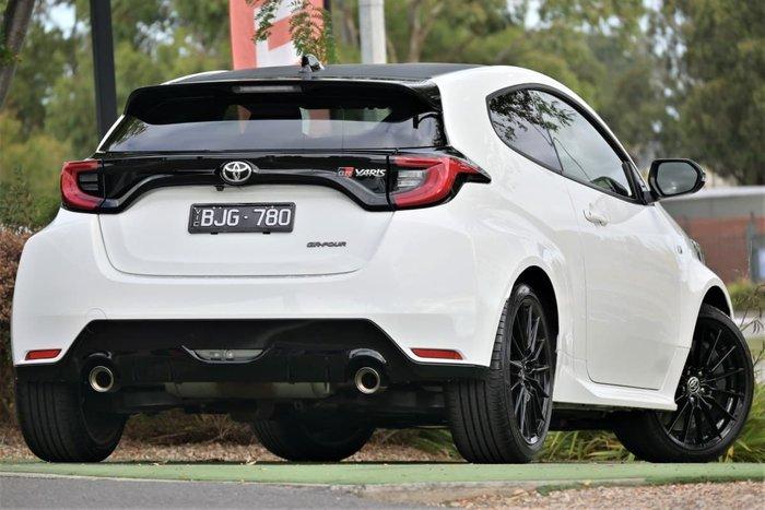 2021 Toyota Yaris GR GXPA16R Four Wheel Drive Glacier White