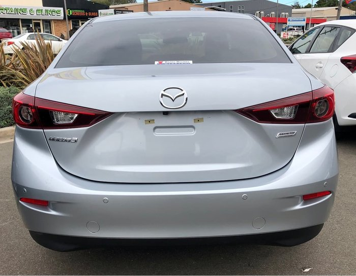 2018 Mazda 3 Touring BN Series Silver