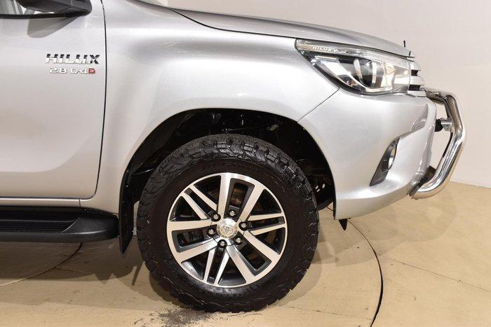 2016 Toyota Hilux SR5 GUN126R 4X4 Dual Range Silver Sky