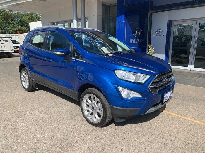 2019 Ford EcoSport Titanium BL MY19.25 Blue