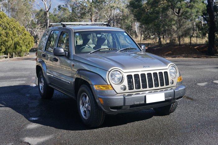 2006 Jeep Cherokee Sport KJ MY06 4X4 Brown