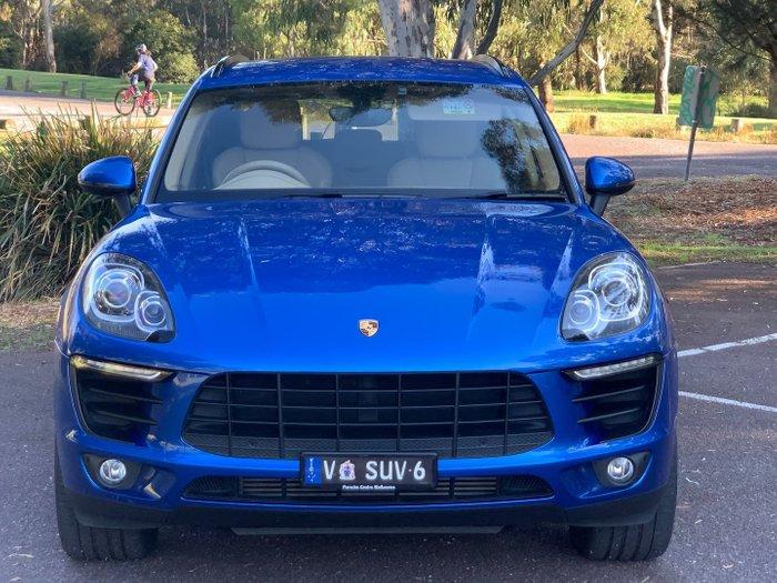 2015 Porsche Macan S Diesel 95B MY15 AWD Blue