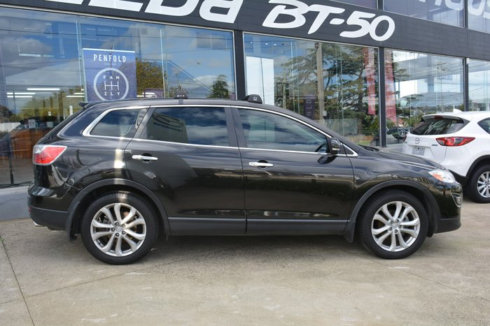 2012 Mazda CX-9 Grand Touring TB Series 4 MY12 Four Wheel Drive Sparkling Black