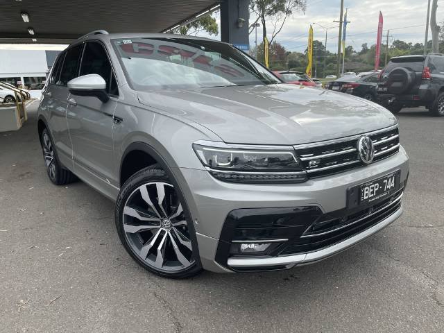 2019 Volkswagen Tiguan 162TSI Highline 5N MY20 Four Wheel Drive TUNGSTEN SILVER