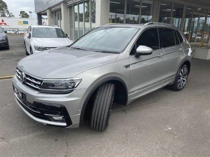 2019 Volkswagen Tiguan 162TSI Highline 5N MY20 Four Wheel Drive Silver