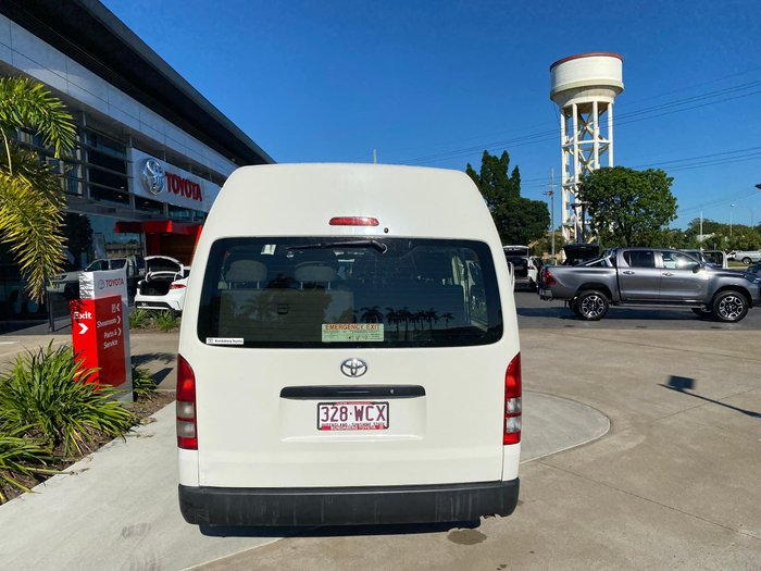 2015 Toyota Hiace Commuter KDH223R French Vanilla