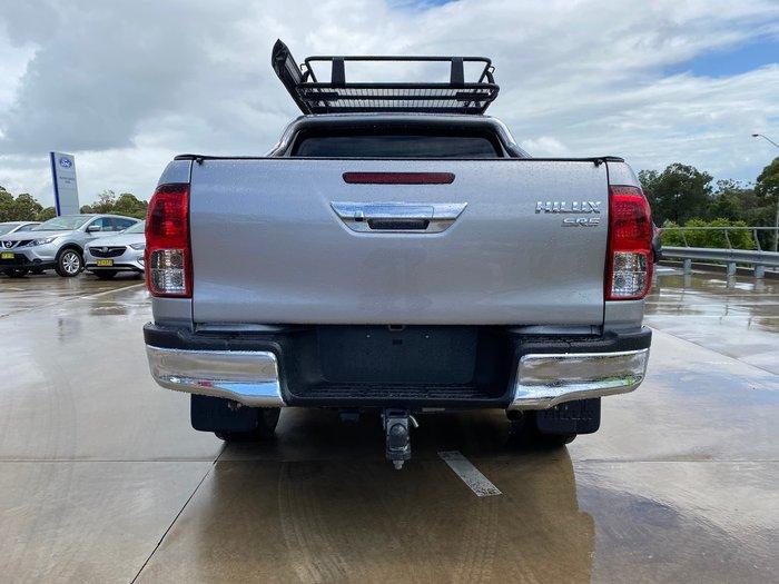 2017 Toyota Hilux SR5 GUN126R 4X4 Dual Range Silver Sky