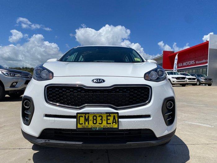 2017 Kia Sportage Si QL MY18 Clear White